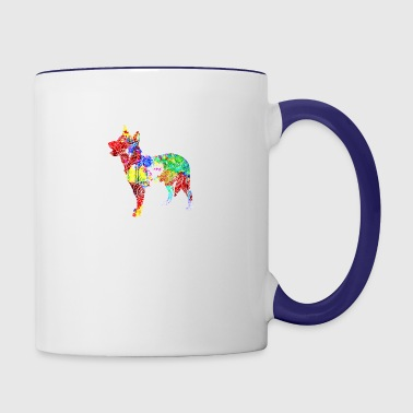 Cattle Dog Shirt - Contrast Coffee Mug