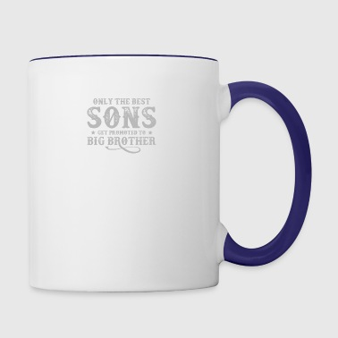 Only The Best Sons T Shirt - Contrast Coffee Mug