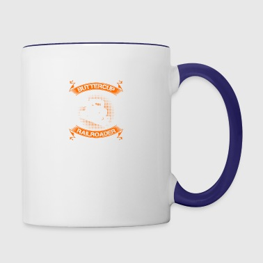 Railroader Tshirt - Contrast Coffee Mug