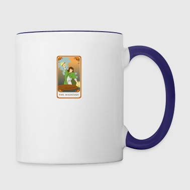 The Magician Tarot Card Tee Shirt - Contrast Coffee Mug