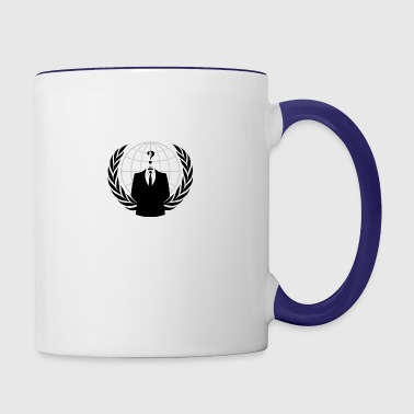 Anonymous Hacker - Contrast Coffee Mug
