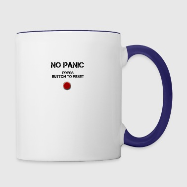 No Panic - Contrast Coffee Mug