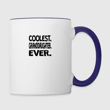 Coolest. Granddaughter. Ever. - Contrast Coffee Mug