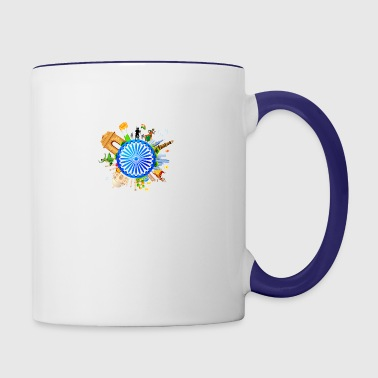 india - Contrast Coffee Mug