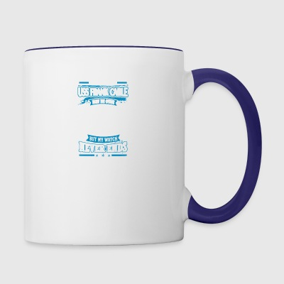 USS Frank Cable Shirt - Contrast Coffee Mug