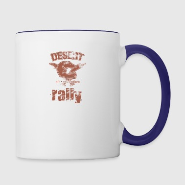 DESERT RALLY motocycle - Contrast Coffee Mug