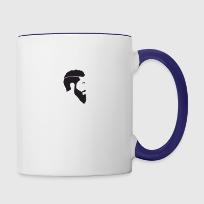 Beard Man - Contrast Coffee Mug