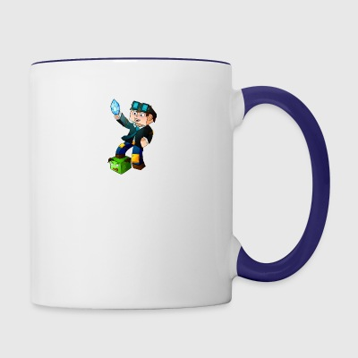 dantdm game fans - Contrast Coffee Mug