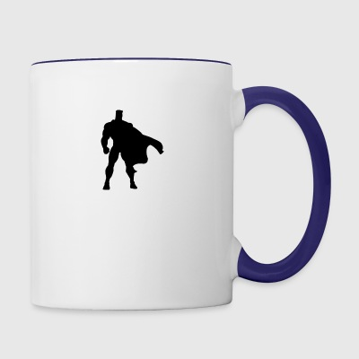 super hero - Contrast Coffee Mug