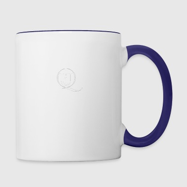 qui the last word LoGo - Contrast Coffee Mug