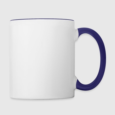 white cube - Contrast Coffee Mug