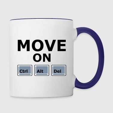 MOVE ON - Contrast Coffee Mug