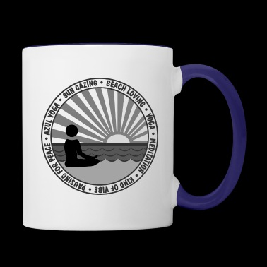 Pausing for Peace - Contrast Coffee Mug