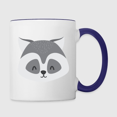 Ronny Raccoon - Contrast Coffee Mug