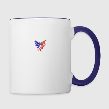 Freedom eagle - Contrast Coffee Mug
