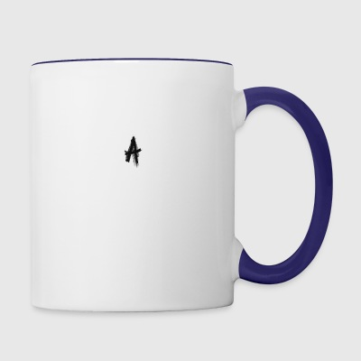 A - Contrast Coffee Mug