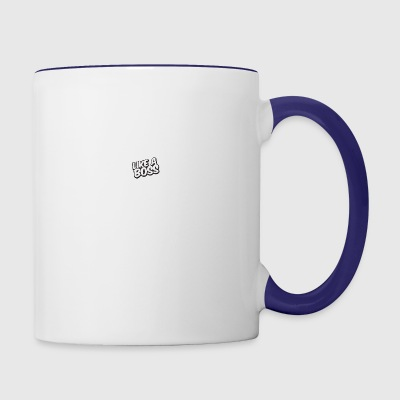 Like A Boss JustMarMar shirt - Contrast Coffee Mug