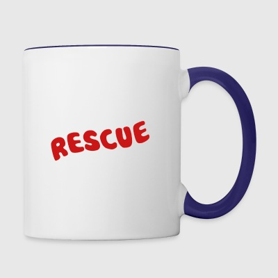Rescue Dog Shirt - Contrast Coffee Mug