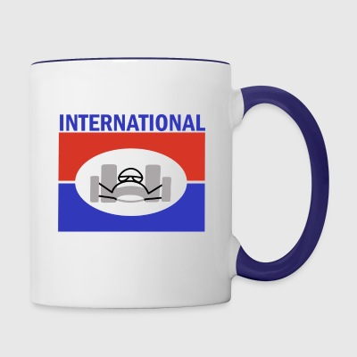 Orange County International Raceway - Contrast Coffee Mug