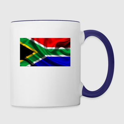 South-African-Flag - Contrast Coffee Mug