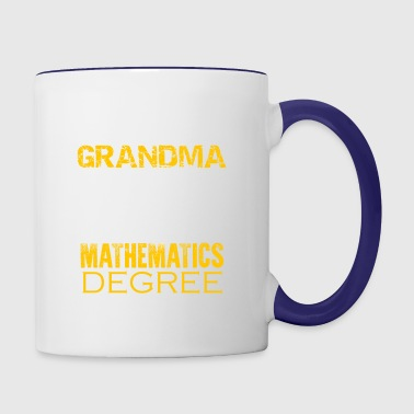 Mathematics Grandma Shirt - Contrast Coffee Mug
