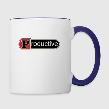Productive - Contrast Coffee Mug
