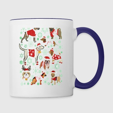 Dog Lover Christmas Sweater (EU) - Contrast Coffee Mug