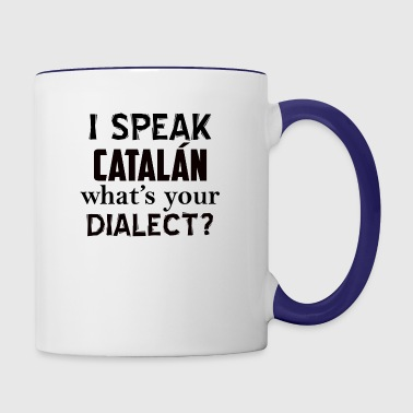 catalan dialect - Contrast Coffee Mug