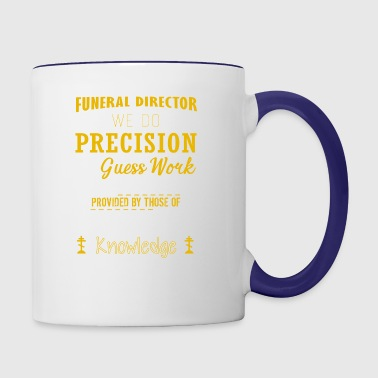 Funeral Director T shirt - Contrast Coffee Mug