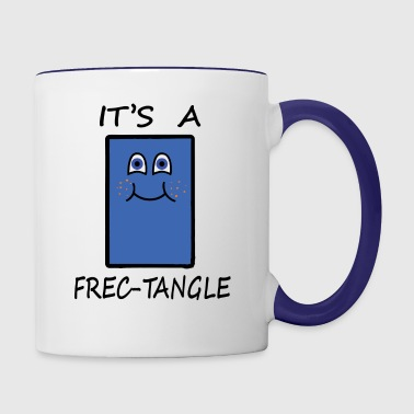 Frectangle, the freckled rectangle - Contrast Coffee Mug