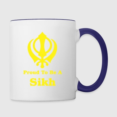 proud to be a sikh - Contrast Coffee Mug
