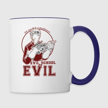 Dr.Horrible's Evil School of Evil - Contrast Coffee Mug