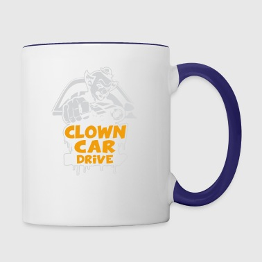 Clown Car Drive - Contrast Coffee Mug