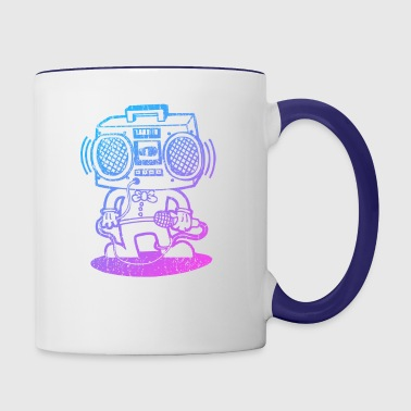 Ghetto Super Star - Contrast Coffee Mug