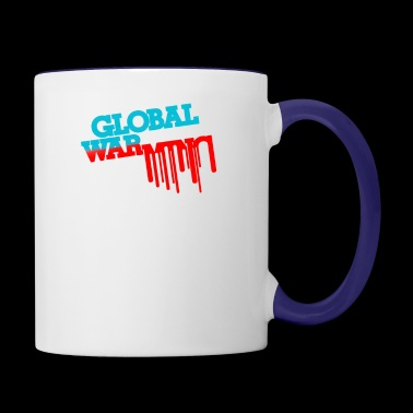 Global War - Contrast Coffee Mug