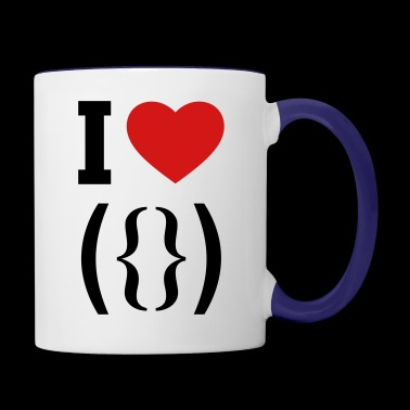 I love vagina - Contrast Coffee Mug