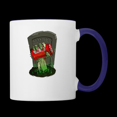 From the grave - Contrast Coffee Mug