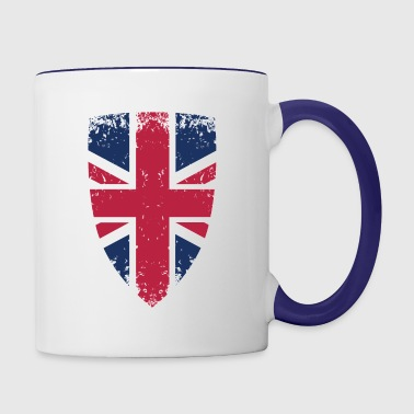 The flag of UK - Contrast Coffee Mug