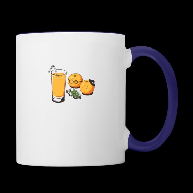 Orange Funeral - Contrast Coffee Mug