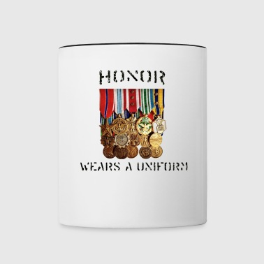 Honor Medals Full - Contrast Coffee Mug