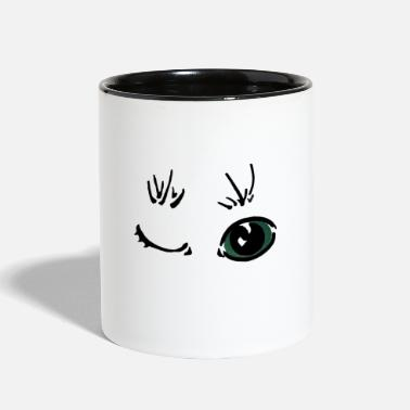 Amusing amused - Two-Tone Mug