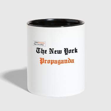 The New York Propaganda - Contrast Coffee Mug
