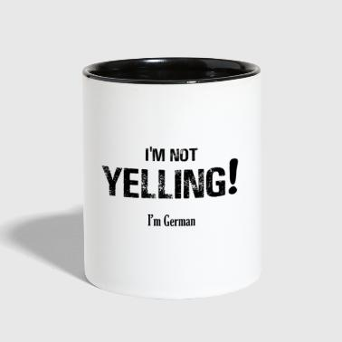 I'm NOT Yelling! - Contrast Coffee Mug
