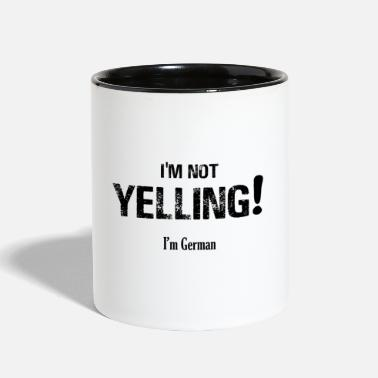 Yell I'm NOT Yelling! - Contrast Coffee Mug