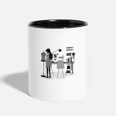 Mode Mode - Contrast Coffee Mug