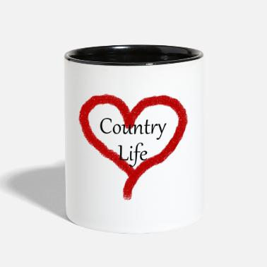 Country Life Country Life - Two-Tone Mug