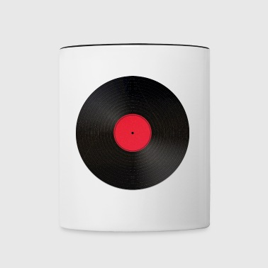record - Contrast Coffee Mug