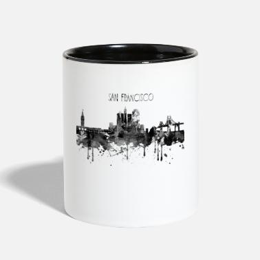 Sans San Francisco, San Francisco California - Contrast Coffee Mug