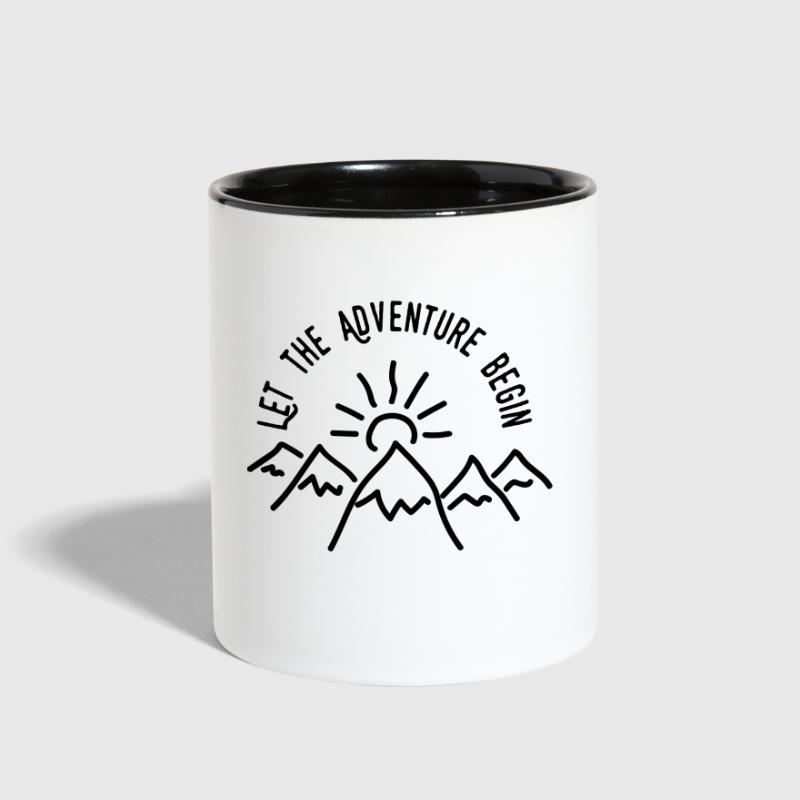 AD Let the Adventure Begin - Contrast Coffee Mug