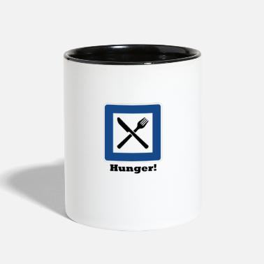 Hunger Hunger! - Two-Tone Mug